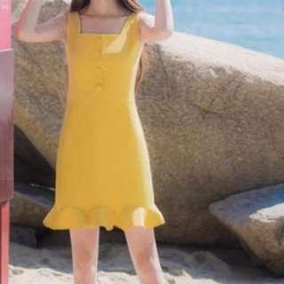 Yellow dress BRAND NEW