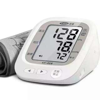 上臂式全自動語音電子量血壓計