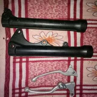 Stock yamaha mio mx i and stock brake lever