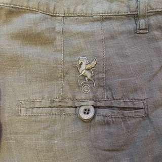 European Culture Linen Pants