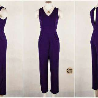 Elegant Jumpsuits (only purple is available now)