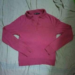 Hangten Hot pink Sweater