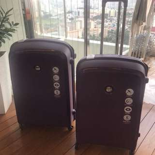 Brand new Delsey Belfort luggage set