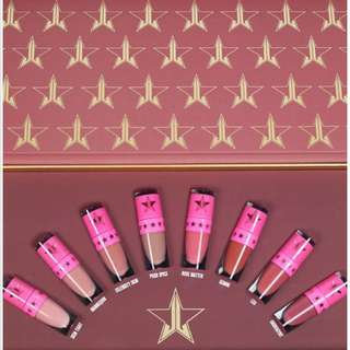 Authentic Jeffrey Star Lip Collection NEW