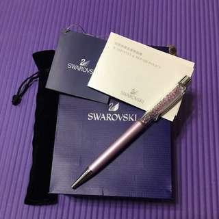 SWAROVSKI施華洛世奇 水晶筆 專櫃正品圓珠筆
