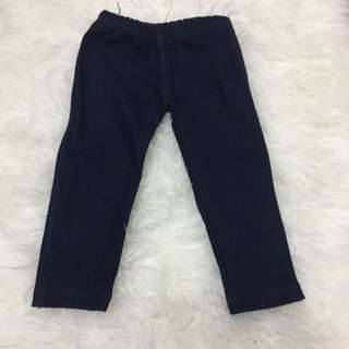 Denim jegging cotton in kids mothercare