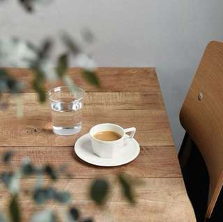 Kinto OCT cup and saucer