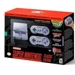 WTS/WTT Super Nintendo Classic Mini (US)
