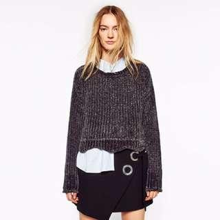 Zara Cropped Sweater