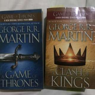 Game of thrones book 1&2