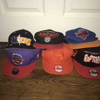 New & used men's basketball hats