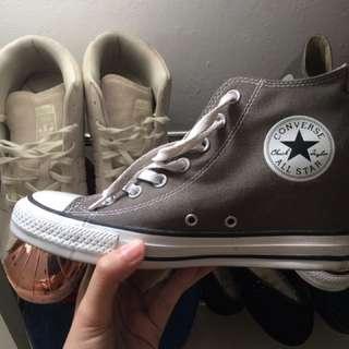 Converse Wedges Denim Grey