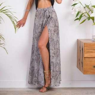 Sundays Print Maxi Skirt