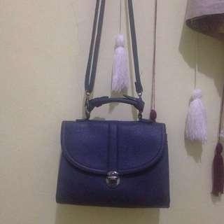 Navy Blue mini bag