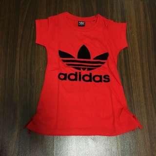BN Adidas Girl Top/Dress