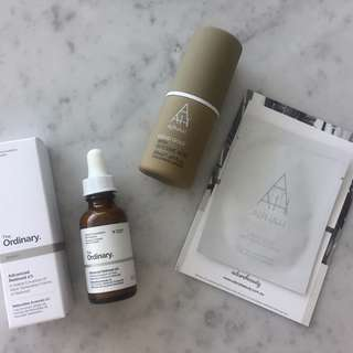 ALPHA-H Liquid Gold & THE ORDINARY Advanced Retinoid 2%
