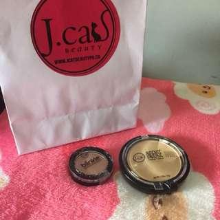 J.Cat Beauty Face Powder Eye Shadow
