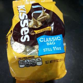 Hersheys Kisses With Almond