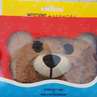 Moschino Bear Eye Mask