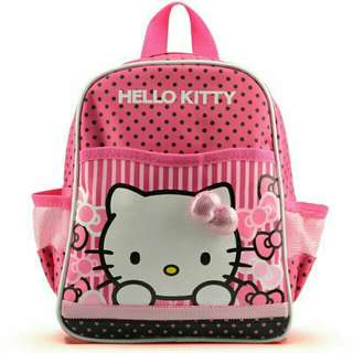 Hello Kitty children backpack  Stok limited!!