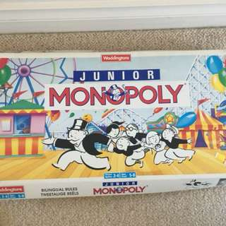 Junior Monopoly Game