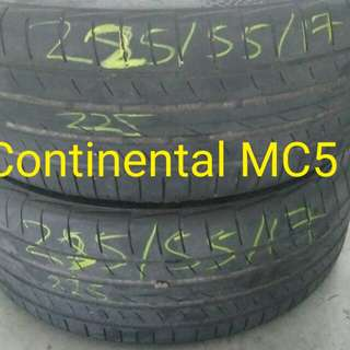 2nd Hand Tyre 225/55/17