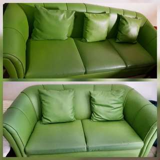 Sofa set (Apple green color)