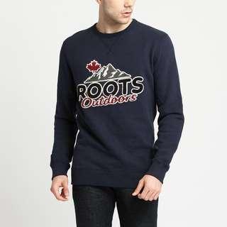 Roots 週年系列圓領大學T