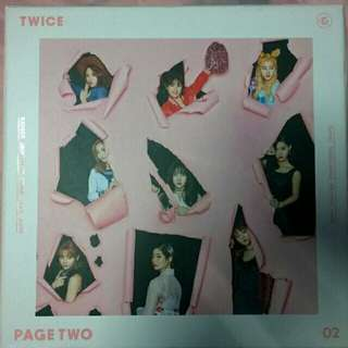 [TWICE] Page Two 2nd Mini Album