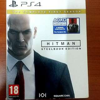 SONY PLAYSTATION 4 GAME (PS4) : HITMAN