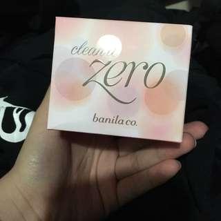 Zero make up remover