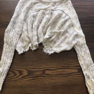 Free People Crop Sweater size S