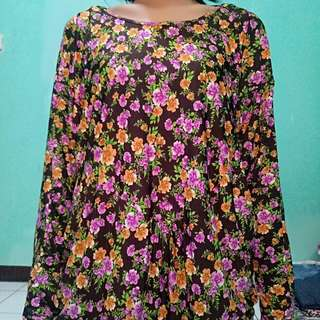 Batwing floral mylie