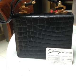 Handbag kulit genny italy
