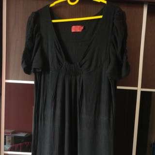 Elle Long Black Dress