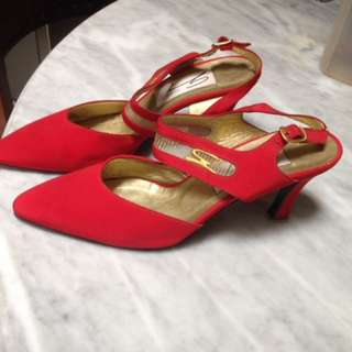 Red heels genny italy