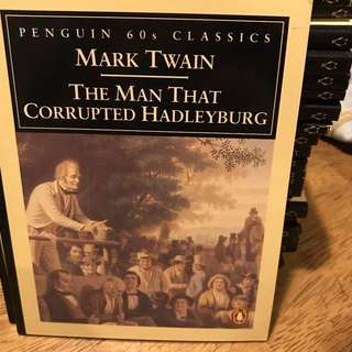 The Man That Corrupted Hadleyburg - Mark Twain   [Penguin 60s Classic Collectibles]