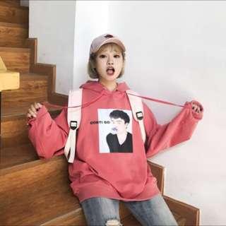 韓版女生帽T