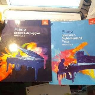 鋼琴考試書(五級)