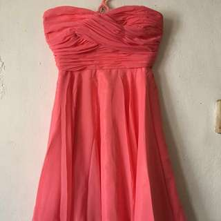 Gown for bridesmaid