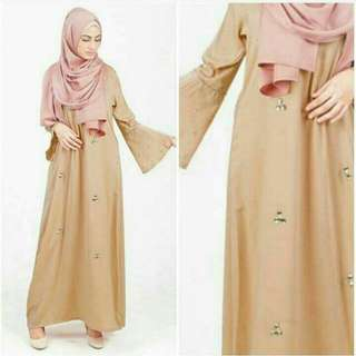 dress vanilla hijab