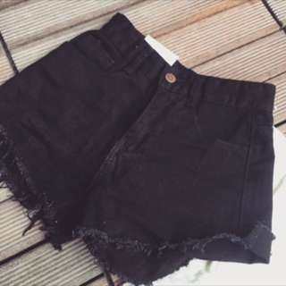 BRAND NEW black shorts