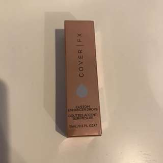 Cover Fx Custom Enhancer Drops In Sunkissed