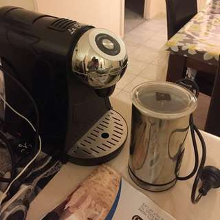 Coffee Machine And A Milk Frother