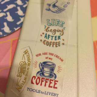 紙膠帶分裝-禮拜文房具咖啡03復古招牌 一單100cm