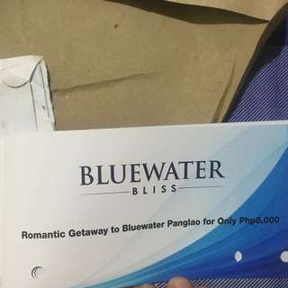 Bluewaters Panglao Romantic Getaway GC