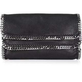 Stella McCartney Iconic Vegan Leather Clutch