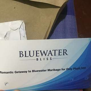 Bluewaters Maribago Romantic Getaway GC