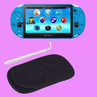 PS Vita Soft Game Pouch Black