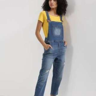 ONLY denim overalls size 42